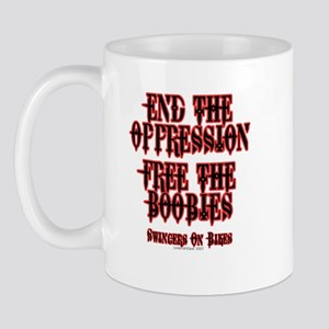 End Oppression Mug